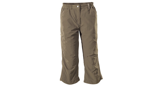 Vaude Women's Farley Capri Pants III lightbrown